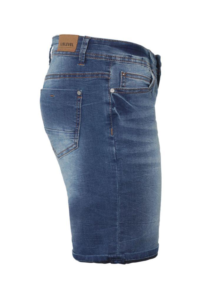 Vorschau: Stretch Jeans Bermuda