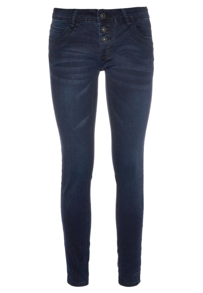 Dark Blue Stretch Jeans