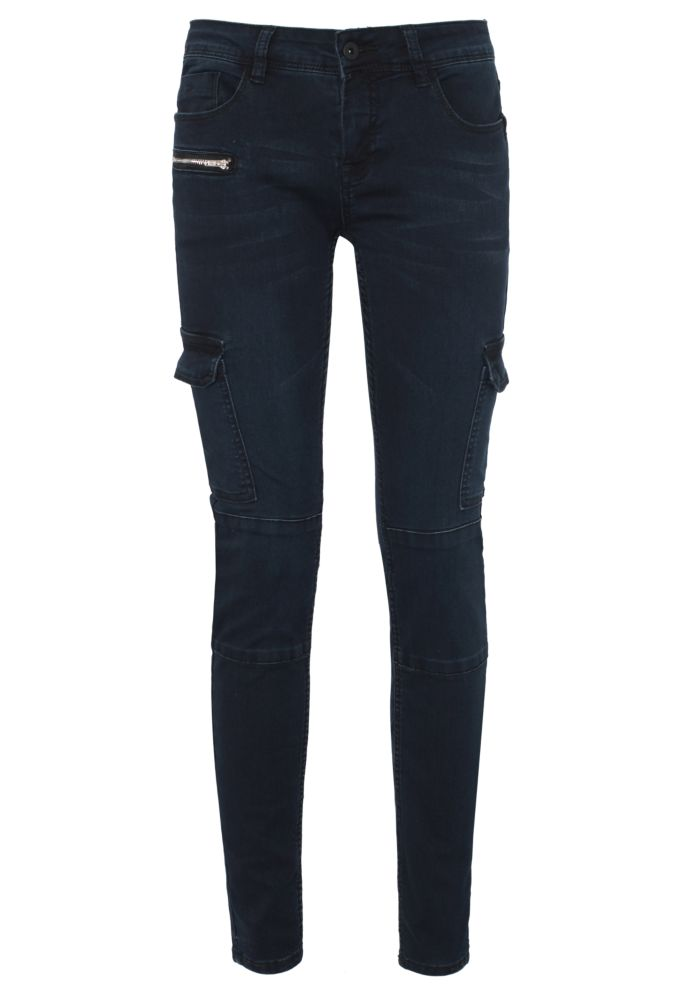 High Stretch Cargo Jeans