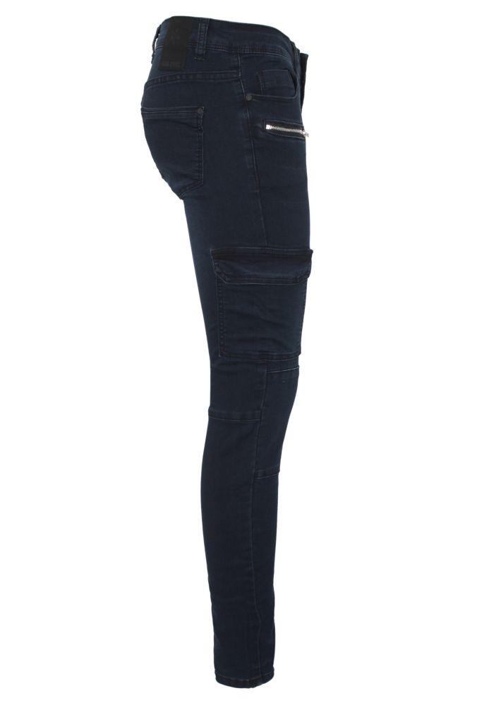Vorschau: High Stretch Cargo Jeans