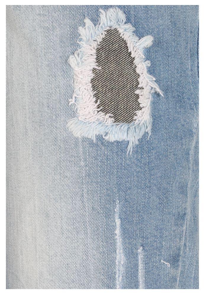 Vorschau: Destroyed 7/8-Jeans