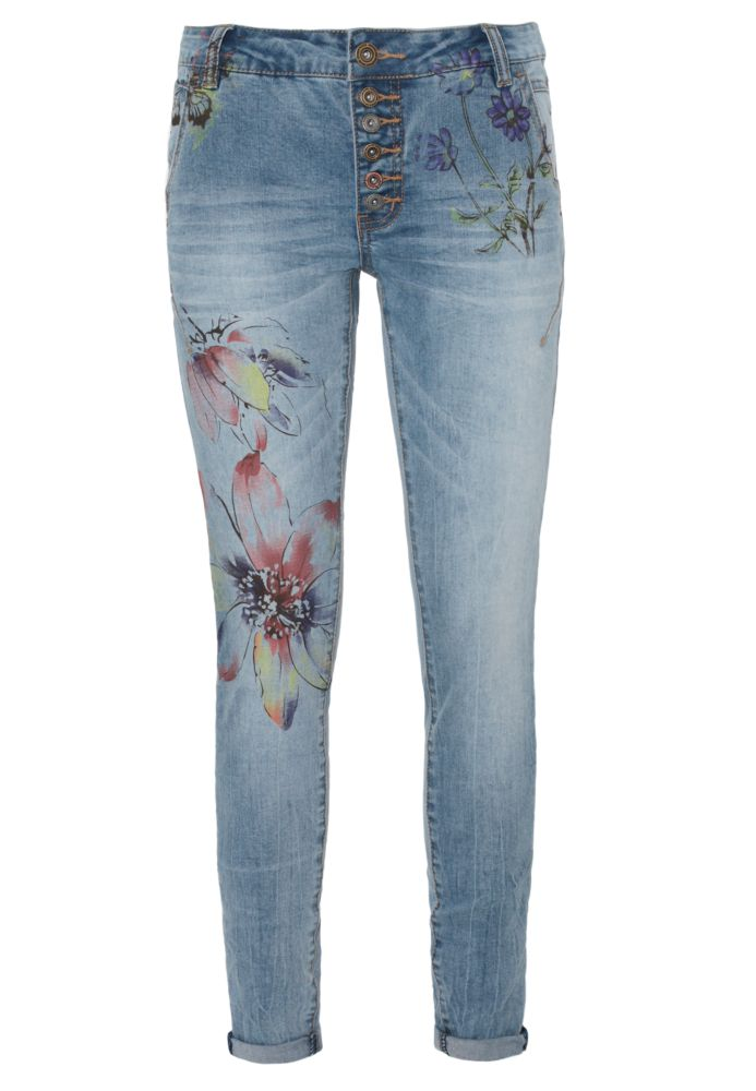 Flower Print Jeans ALVA
