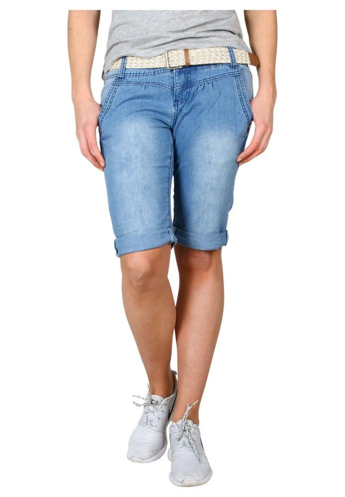 Vorschau: Leichte Jeans Bermuda