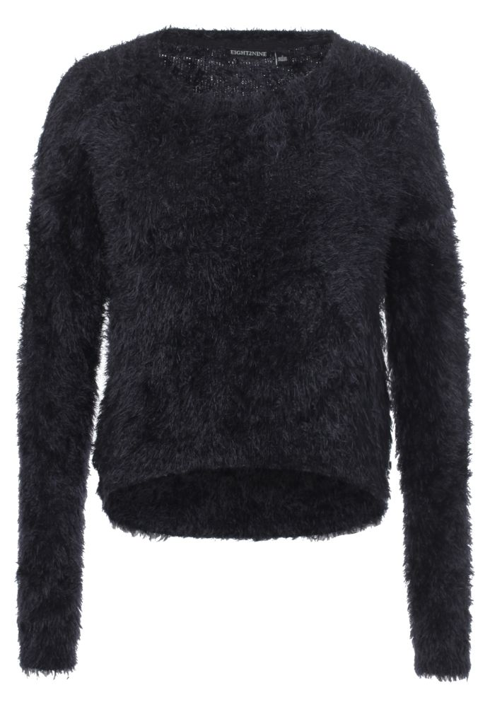 Hairy Strickpullover Cropped