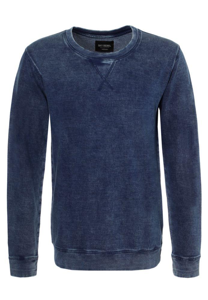 Blaues Vintage Sweatshirt