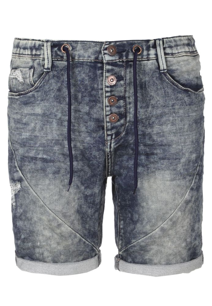 Jeans Shorts aus Sweat