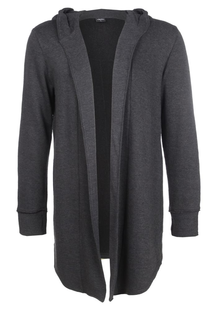 Long Cardigan aus Sweat