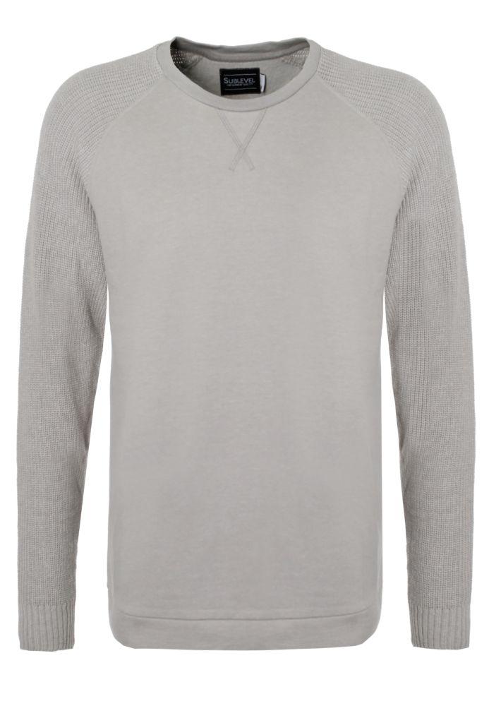 Sweatshirt mit Strickärmel