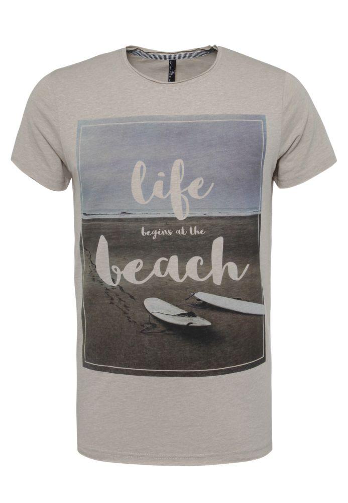 T-Shirt - Beach Print