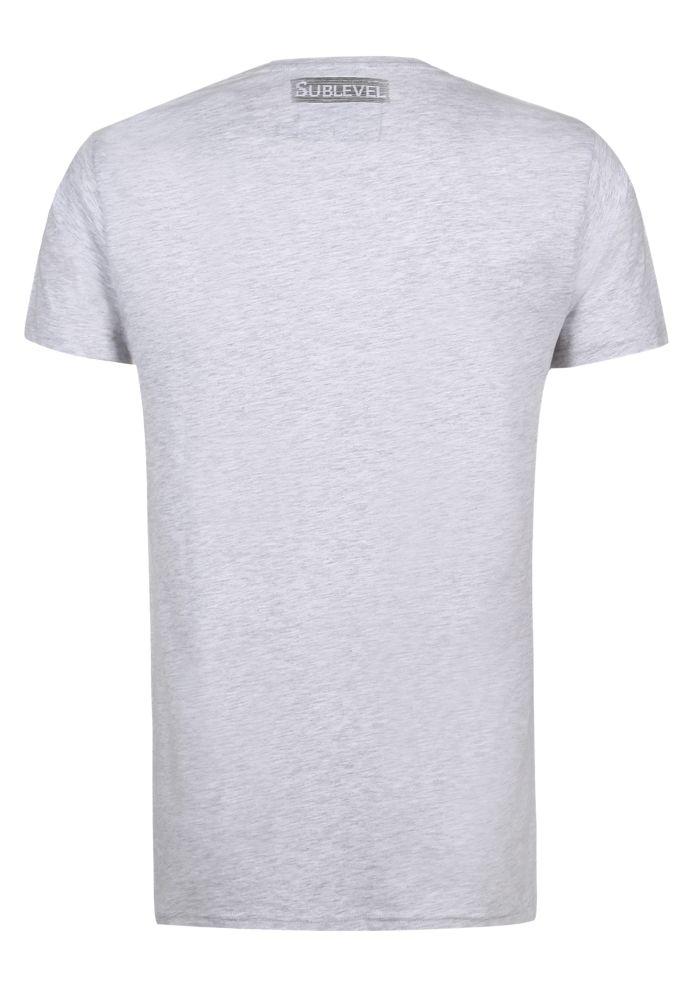 Vorschau: Herren Shirt mit Trend-Print