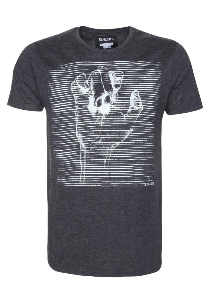 Herren Shirt mit Trend-Print