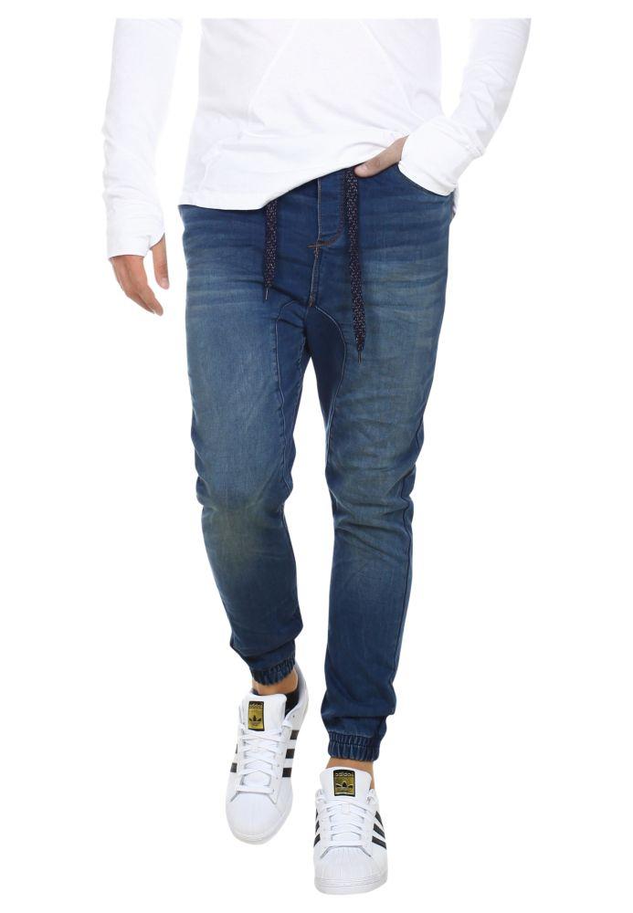 Vorschau: Sweat Jeans mit Gummibund