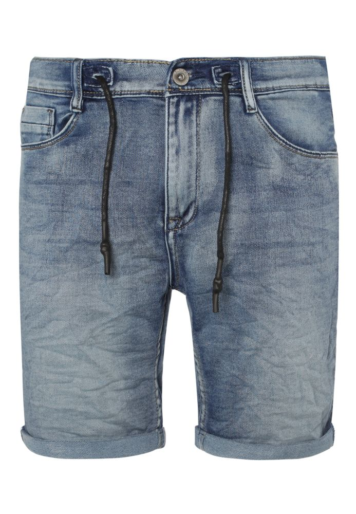Sweat Shorts - Denim Look