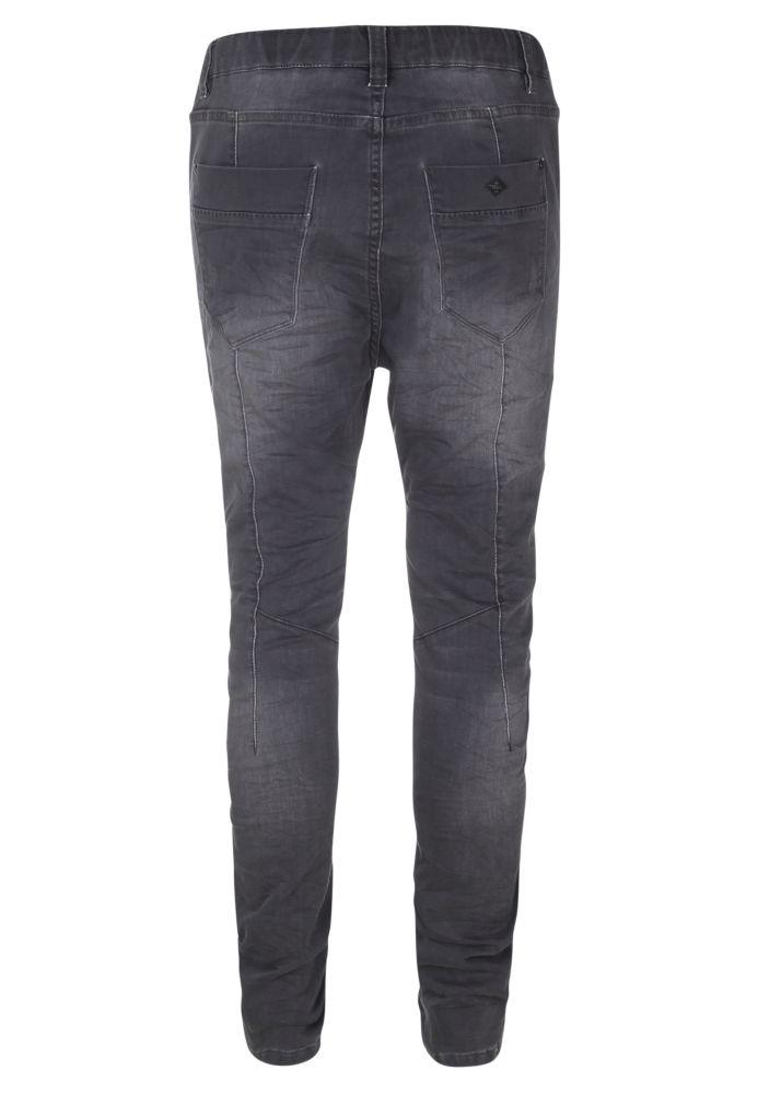 Vorschau: Schwarze Used Sweat Jeans