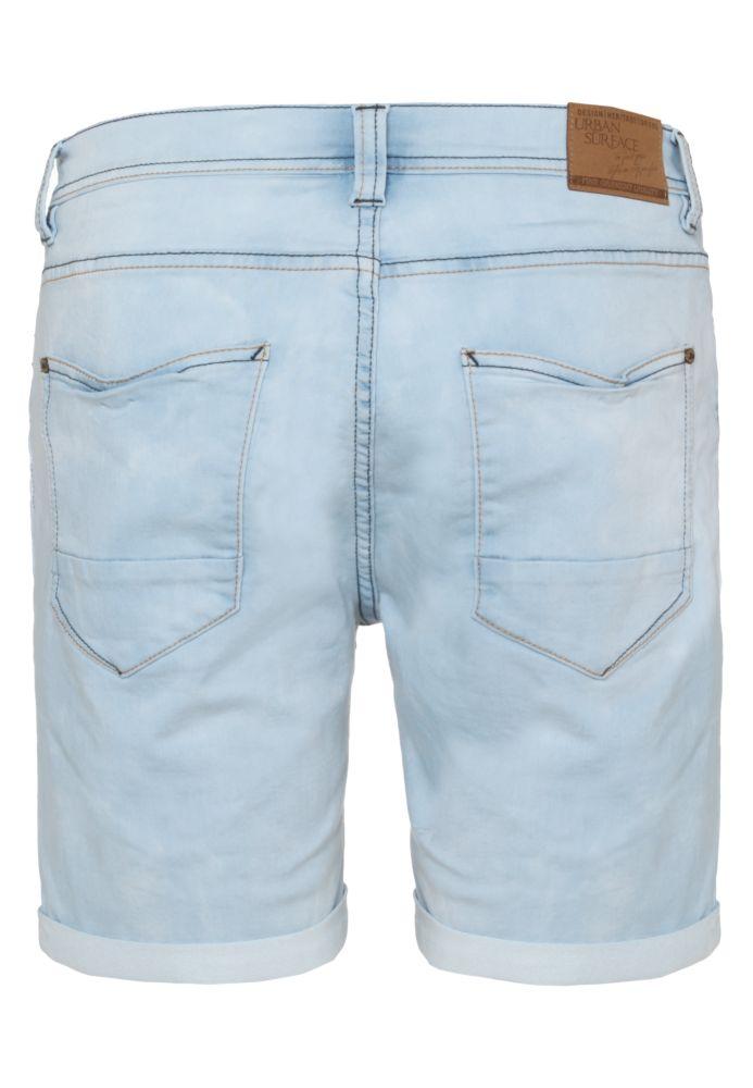 Vorschau: Hellblaue Sweat Jeans Shorts