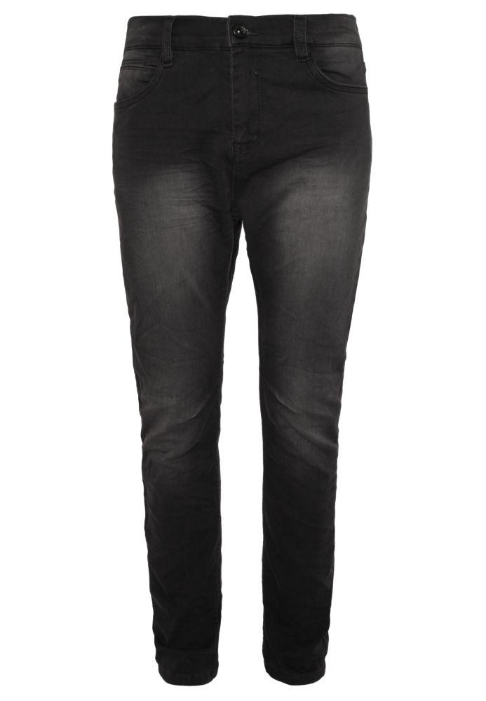 Schwarze Herren Sweat Jeans