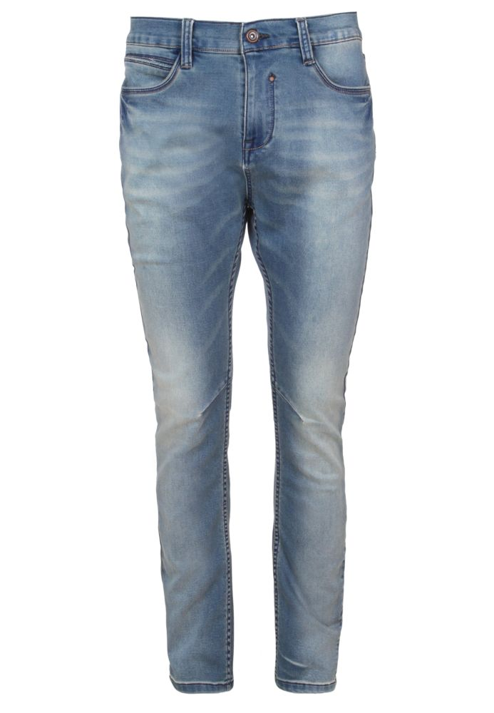 Herren Slim Fit Sweat Jeans