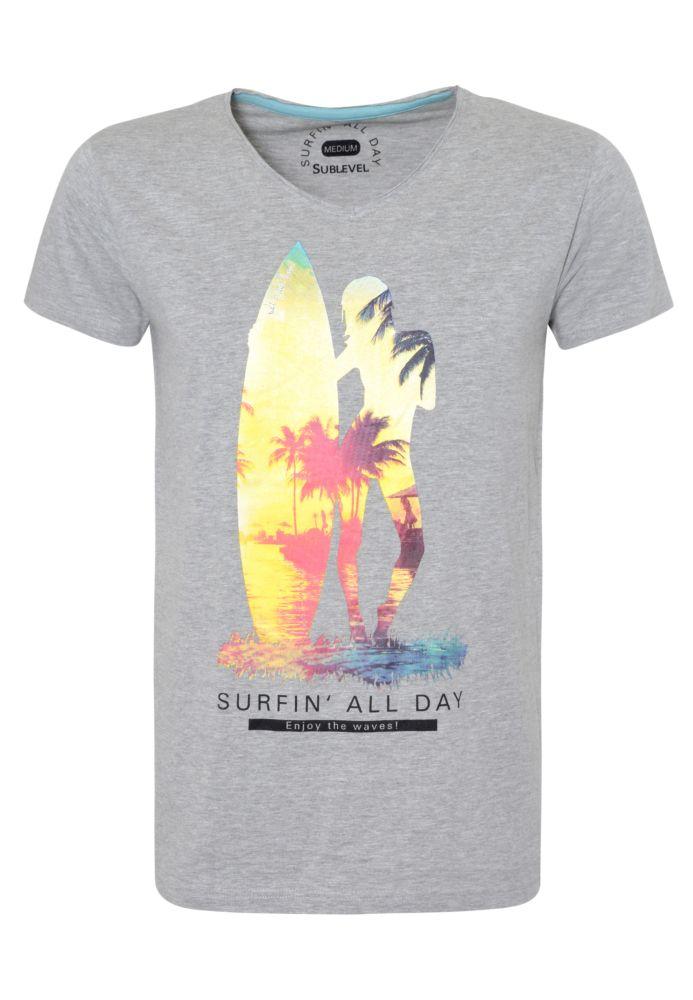 Herren T-Shirt - Surfing