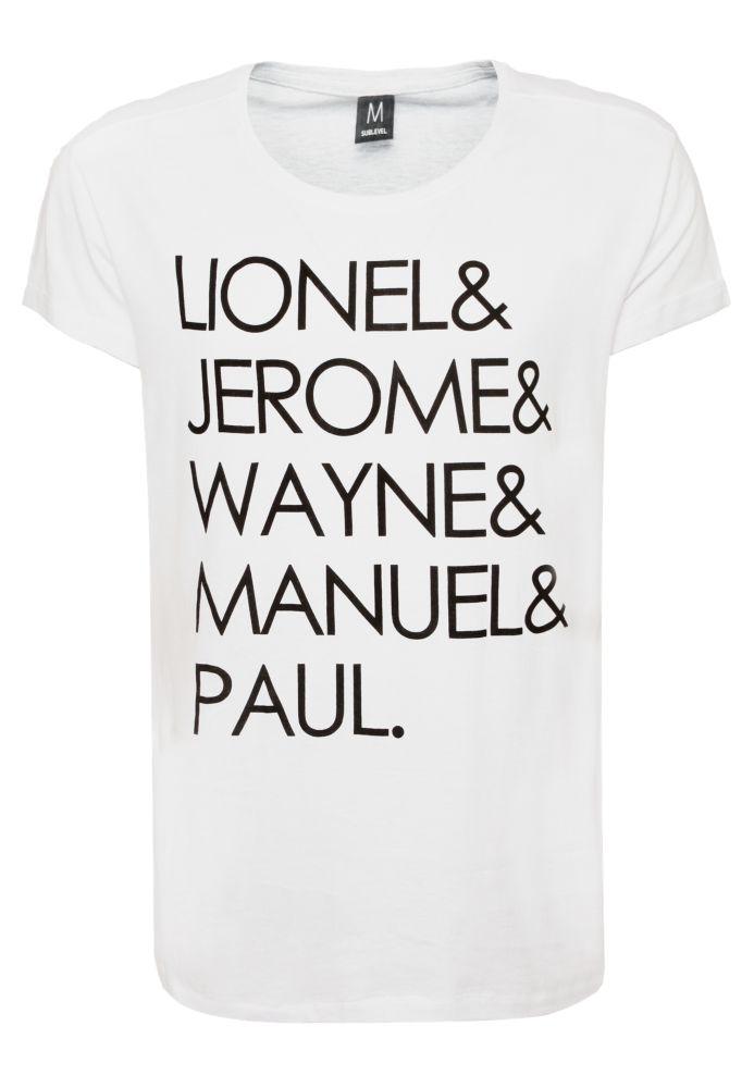 Herren Slogan T-Shirt
