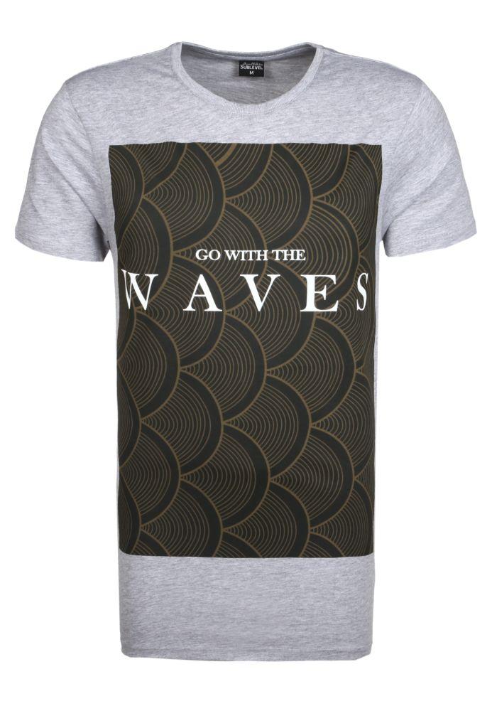 Herren T-Shirt WAVES