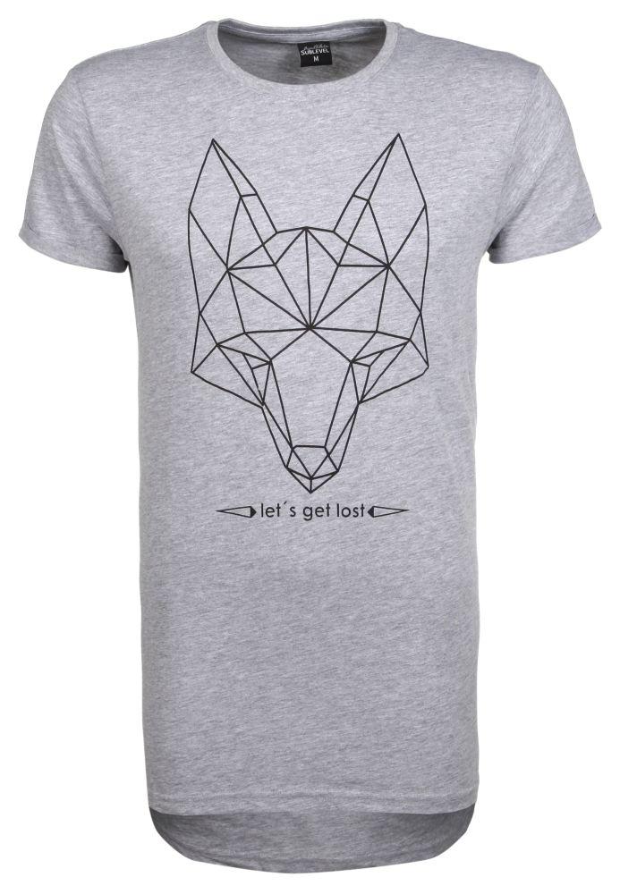 Oversize T-Shirt mit Print
