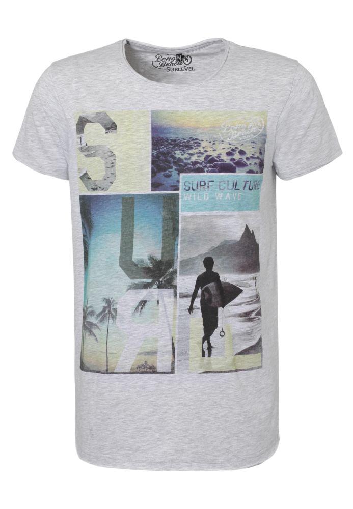 Herren T-Shirt - Surfer Print