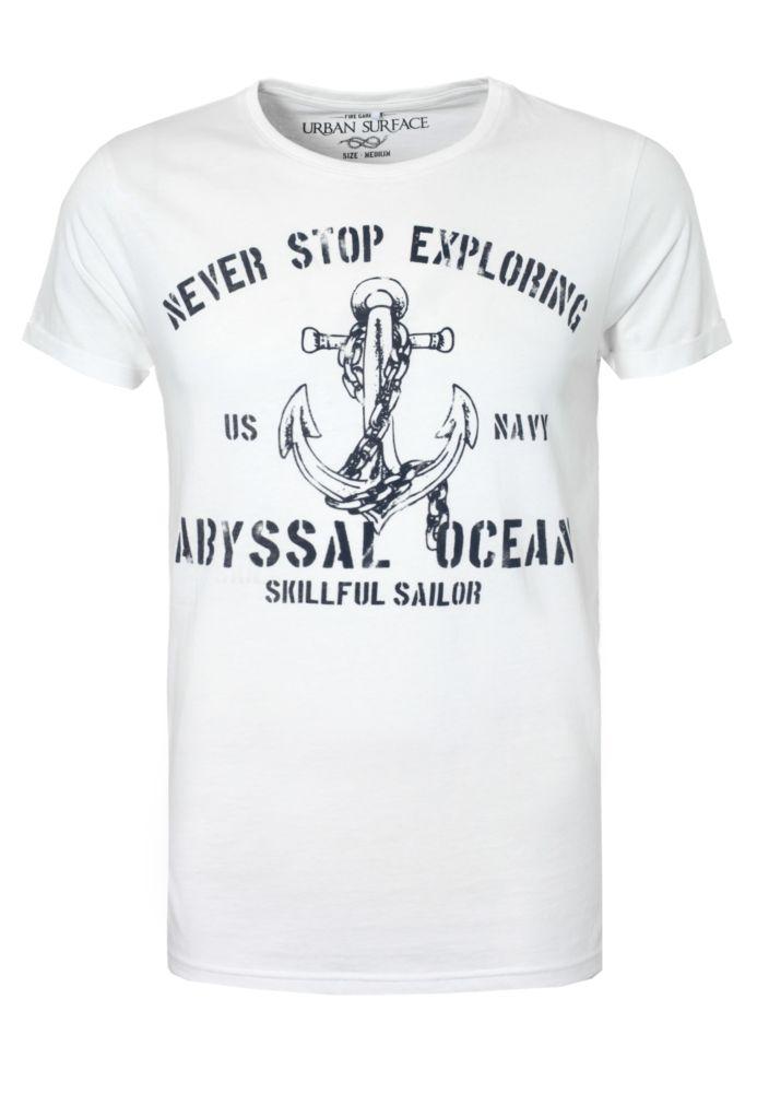Herren T-Shirt - Sailor Print