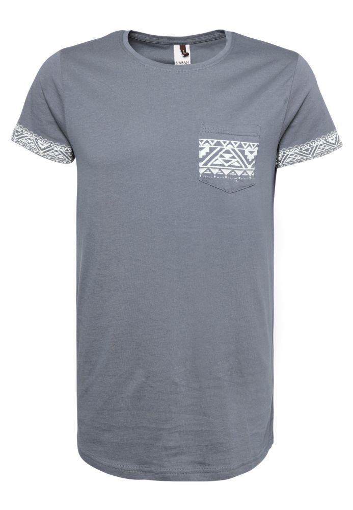 Herren T-Shirt Ethno Print