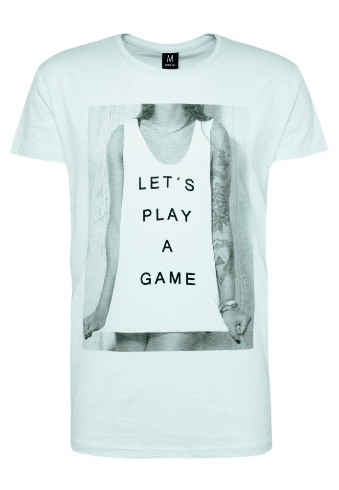 Herren T-Shirt - Let's play