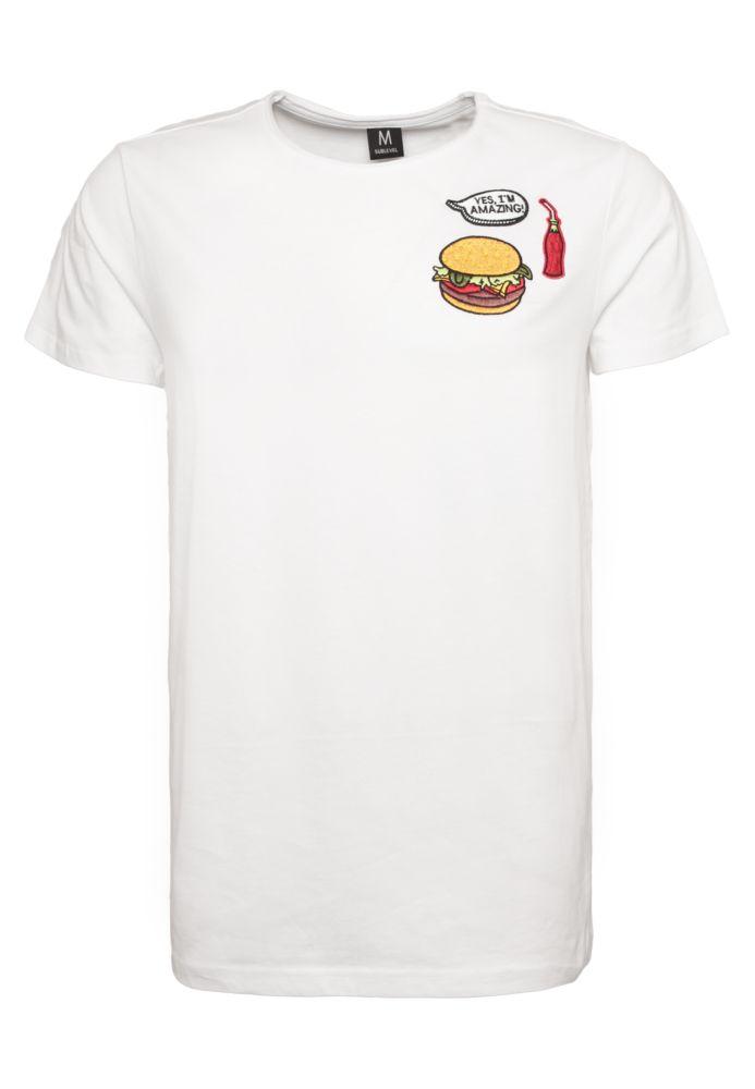 Herren T-Shirt mit Patches