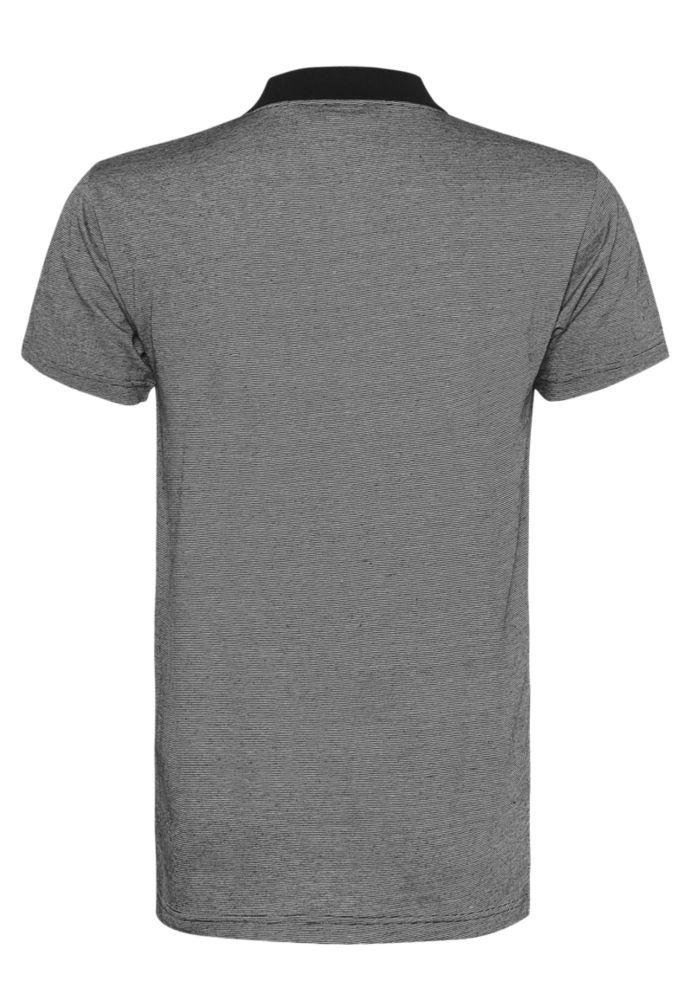 Vorschau: Gestreiftes Herren Polo Shirt