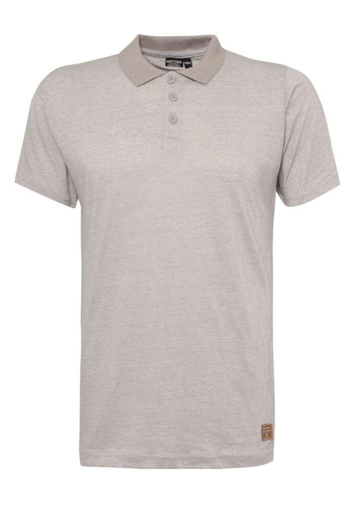 Gestreiftes Herren Polo Shirt