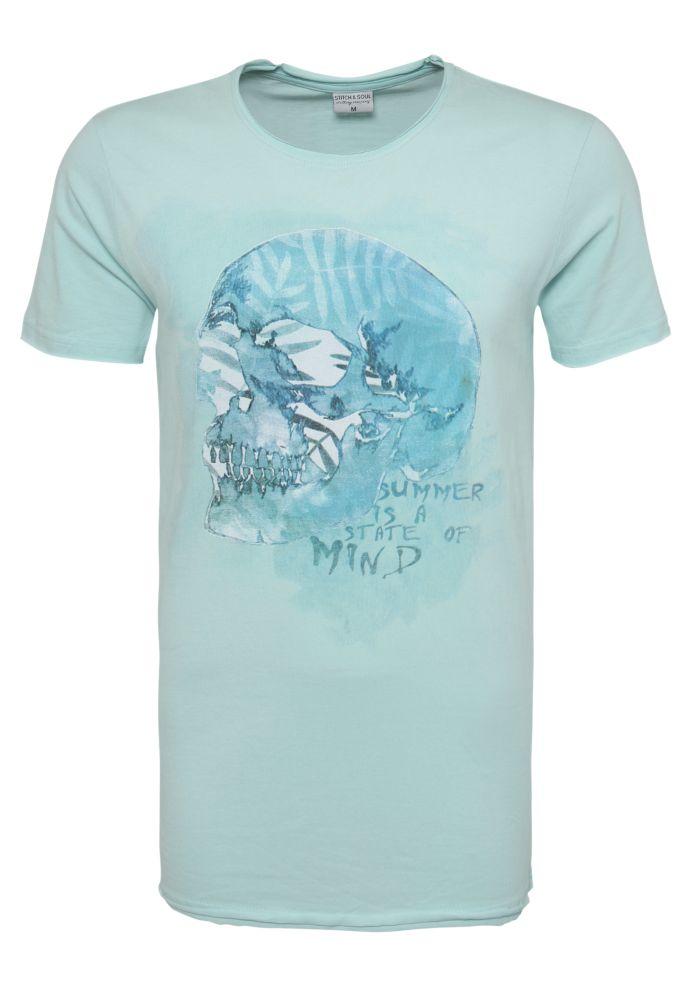 Herren T-Shirt - Sommer Print