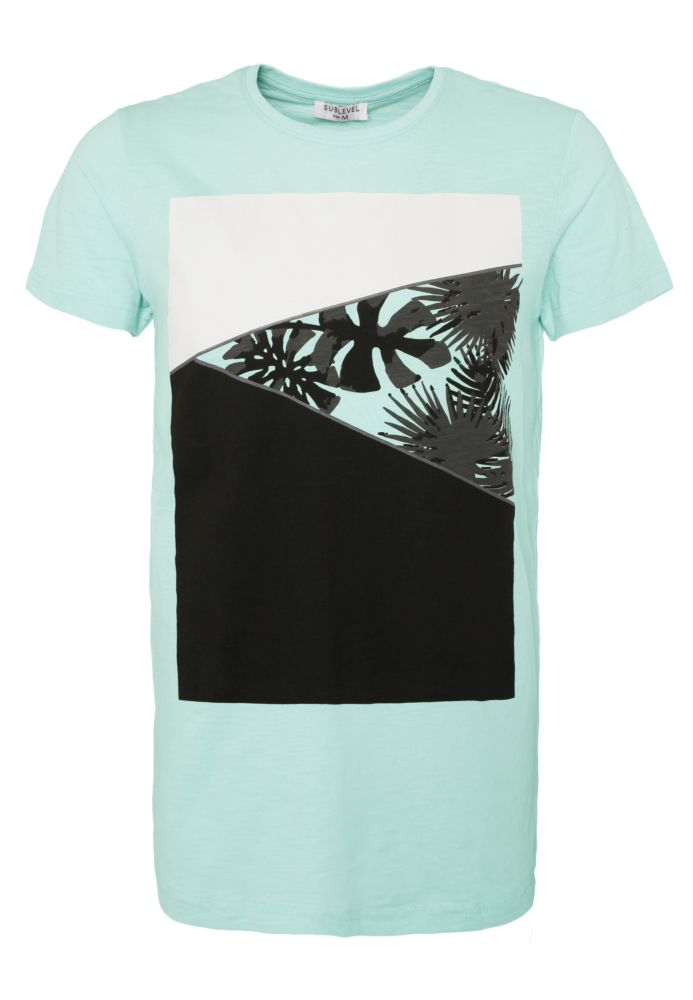 Herren T-Shirt - Palmen Print
