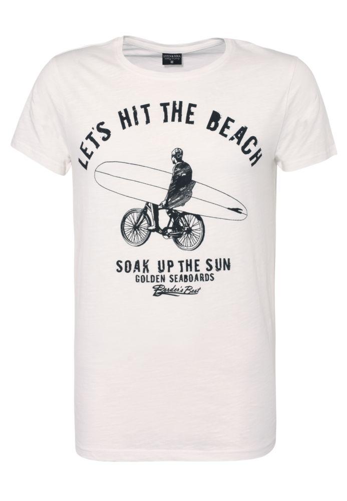 Herren T-Shirt - Beach Print