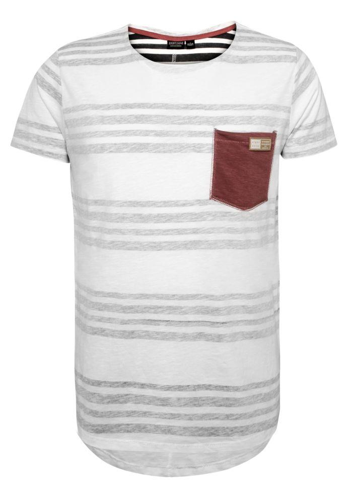 Herren Streifen T-Shirt