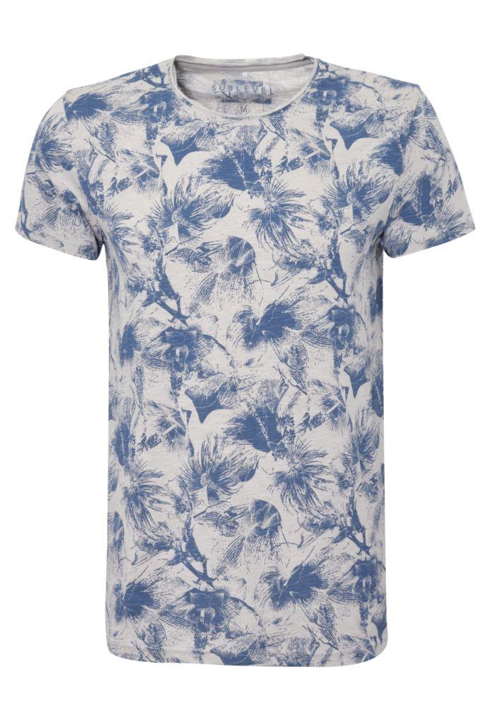 Herren T-Shirt - Flowers