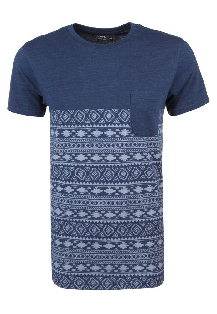 Herren T-Shirt mit Ethno Print