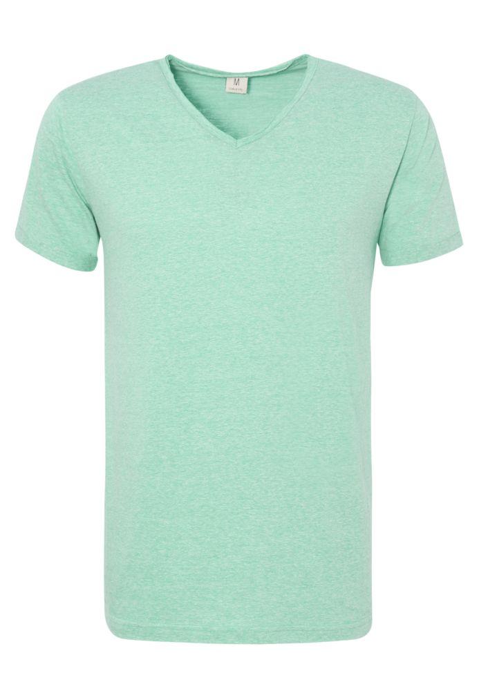 Basic Melange Herren T-Shirt