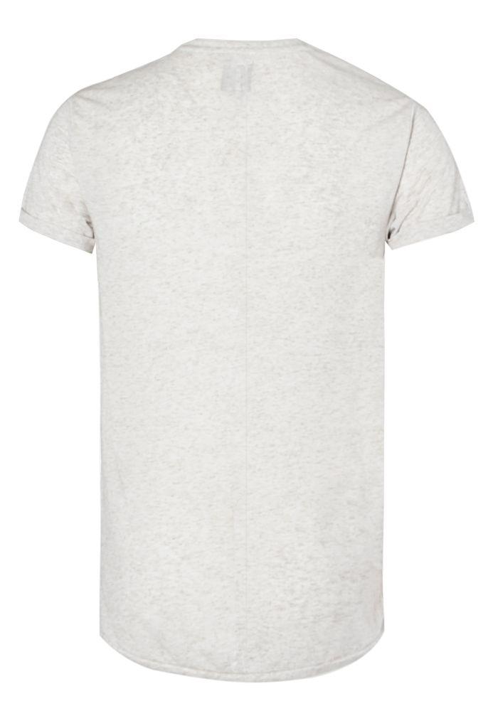 Vorschau: Struktur Melange T-Shirt