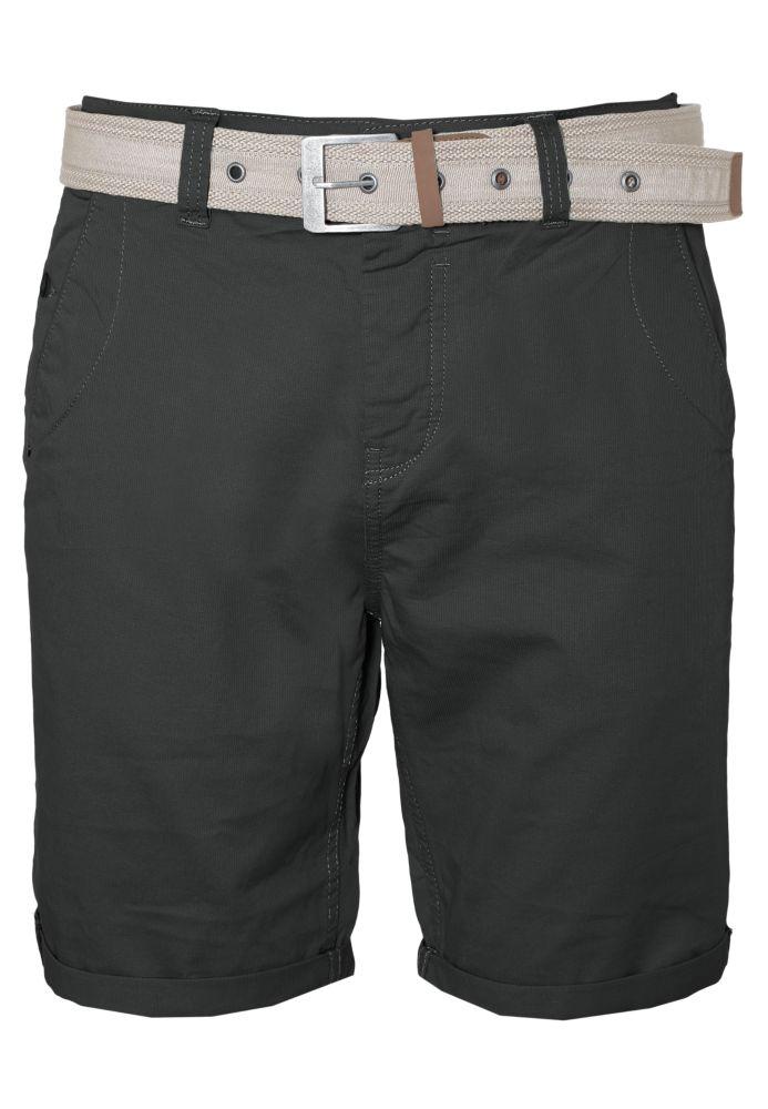 Chino Shorts mit Struktur