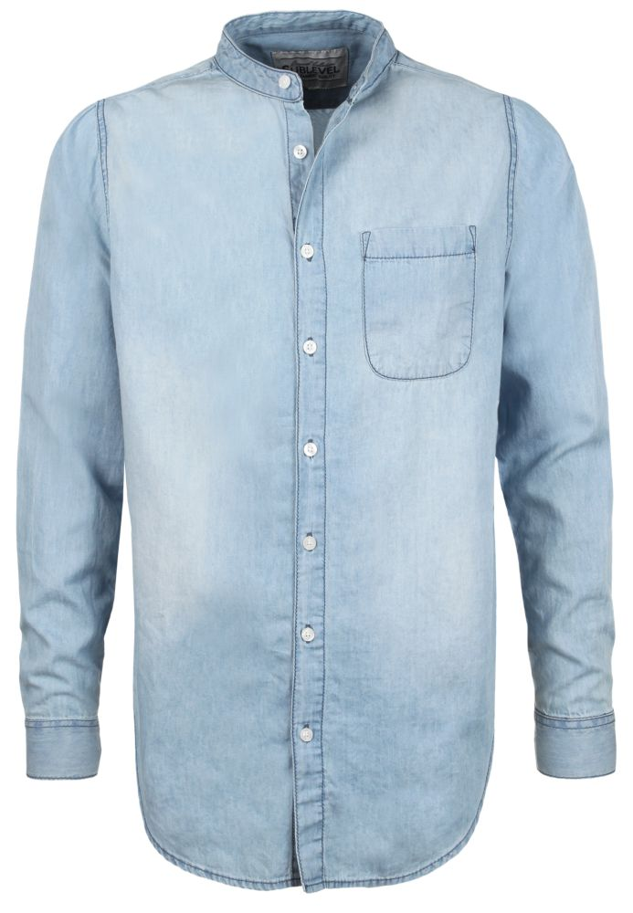Hellblaues Jeans Hemd