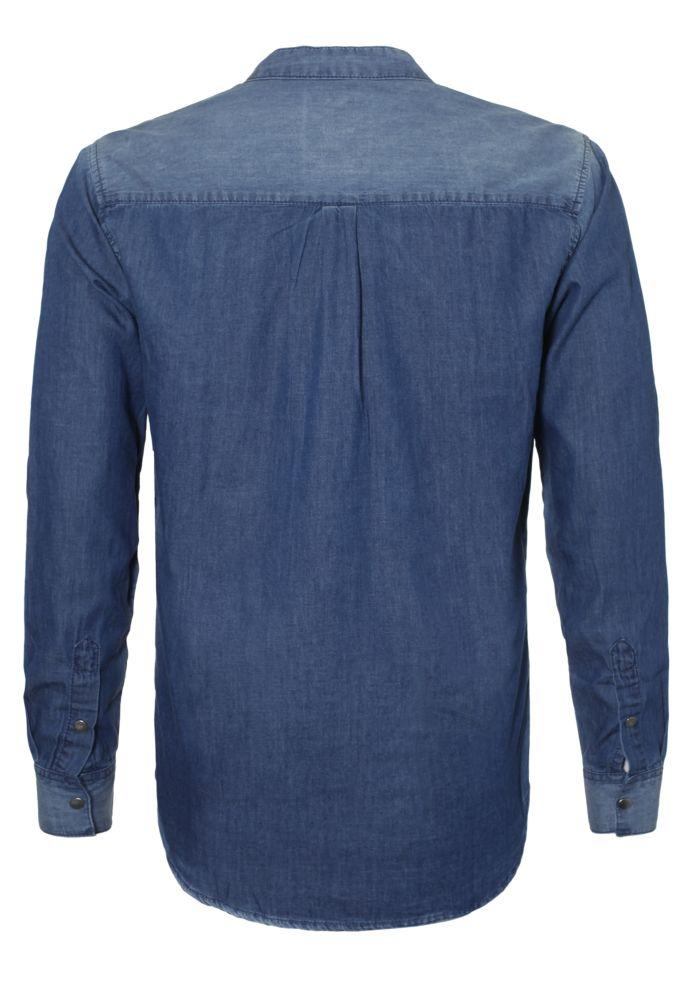 Vorschau: Leichtes Jeanshemd - Long Fit