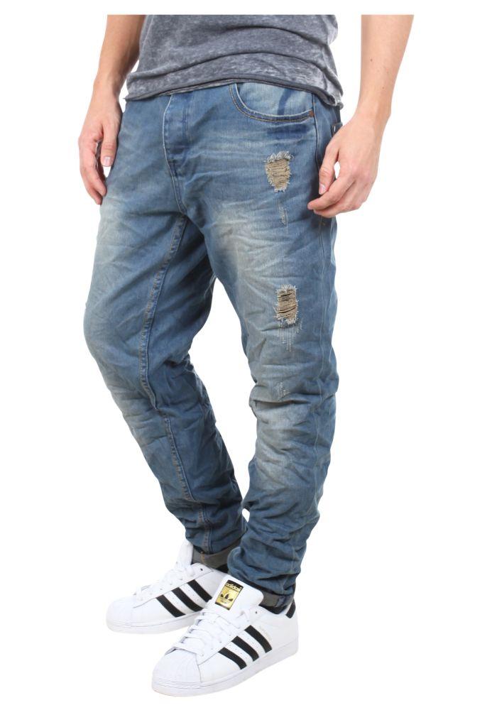 Vorschau: Carrot Fit Herren Jeans