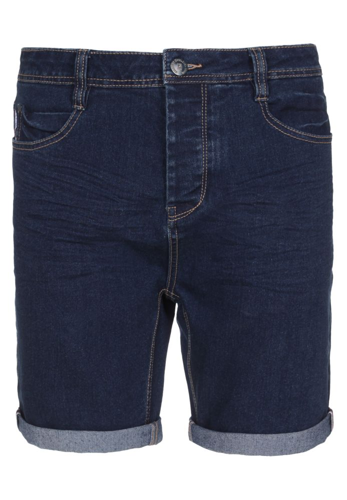 Dunkelblaue Jeans Bermuda