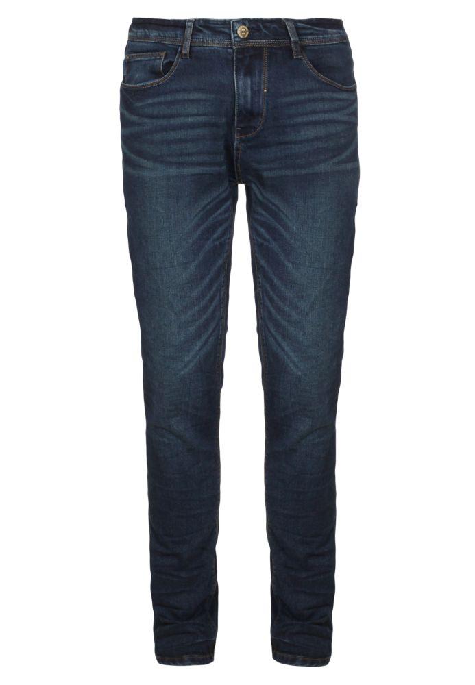Dunkel blaue Skinny Jeans